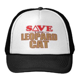 Leopard Cat Save Cap