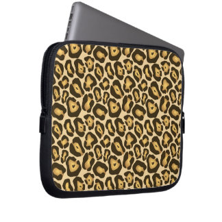Leopard Cheetah Animal Print Pattern Laptop Sleeve