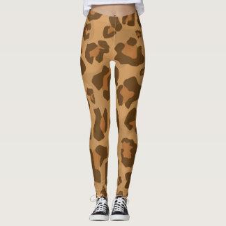 Leopard Cheetah Cougar Jaguar Puma Pattern Leggings