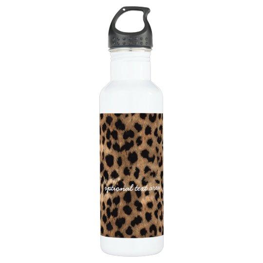 Leopard Cheetah Print Glamour Girls 710 Ml Water