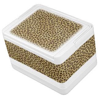 Leopard / Cheetah Print Igloo Cool Box