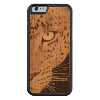 Leopard Cherry Wood IPhone 6 Case Carved® Cherry iPhone 6 Bumper