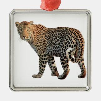 Leopard Christmas Ornament