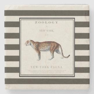 leopard coaster, leopard print, stone coaster