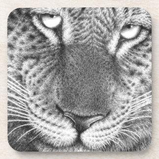 Leopard Cork Coaster
