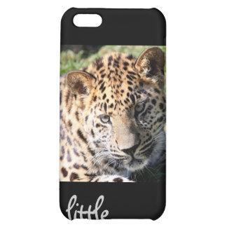 Leopard cub baby cute photo iphone 4 case