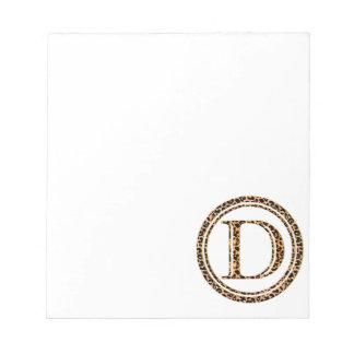 leopard D Notepad