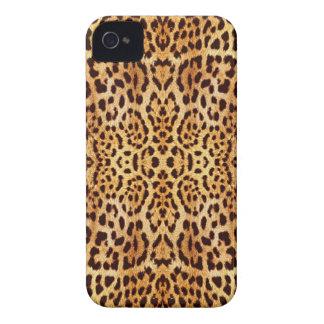 leopard elegant fur iPhone 4 Case-Mate case