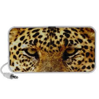 Leopard  Eyes Laptop Speaker