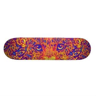 leopard eyes skateboard