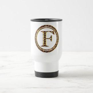 leopard F Travel Mug
