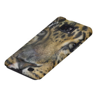 Leopard Face of Hunger Samsung Galaxy S2 Cases
