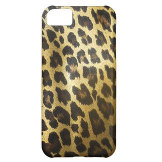Leopard Fur Animal Print Case For iPhone 5C