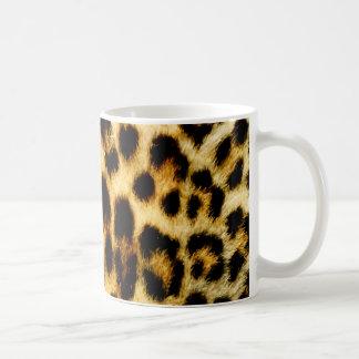 Leopard Fur Basic White Mug
