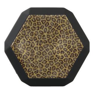 Leopard Fur Black Boombot Rex Bluetooth Speaker