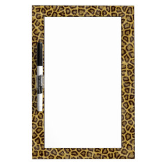 Leopard Fur Dry Erase Board