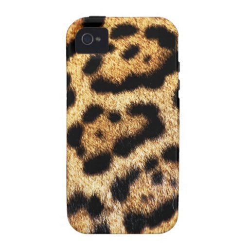 Leopard Fur Look Vibe iPhone 4 Cases