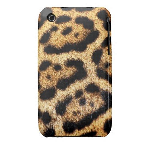 Leopard Fur Look iPhone 3 Case-Mate Case