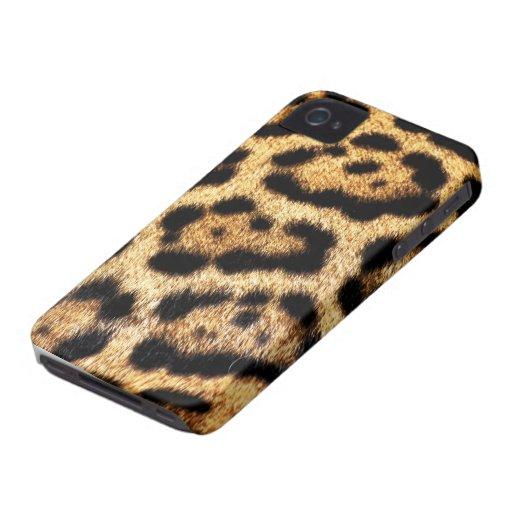 Leopard Fur Look Case-Mate iPhone 4 Cases