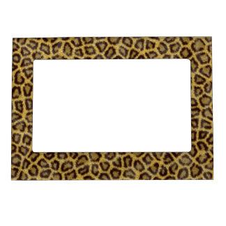 Leopard Fur Magnetic Frame