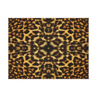 Leopard Fur Pattern Canvas Print