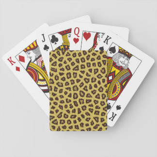 Leopard Fur Playing Cards