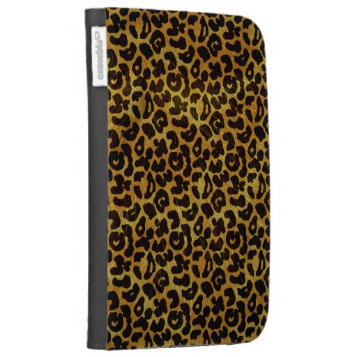 Leopard Fur Print Animal Pattern Kindle Folio Cases