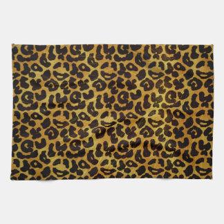 Leopard Fur Print Animal Pattern Tea Towel