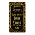 Leopard Fur Print Customisable Beer Brewer