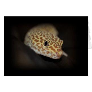 Leopard Gecko Card