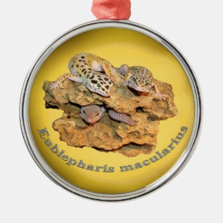 Leopard gecko design for all! christmas ornament