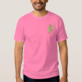 Leopard Gecko Embroidered T-Shirt