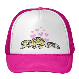 Leopard Gecko Love Cap