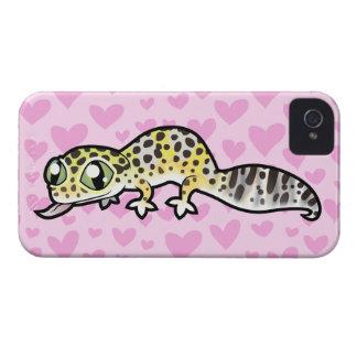 Leopard Gecko Love iPhone 4 Case
