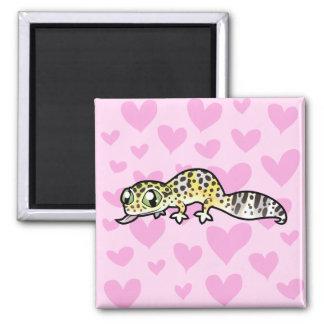 Leopard Gecko Love Magnet