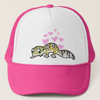 Leopard Gecko Love Trucker Hat