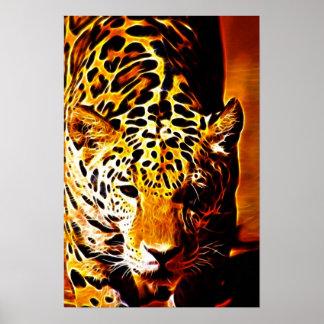 Leopard Gotcha Poster