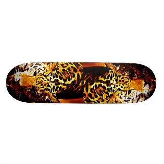 Leopard Gotcha Custom Skateboard