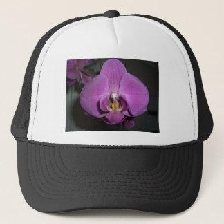 Leopard Head Yellow Purple Orchid Trucker Hat