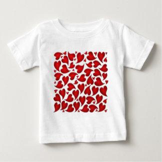 leopard heart tee shirt