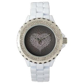 Leopard Heart watch