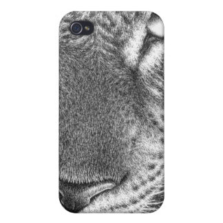 Leopard iPhone 4 Cover