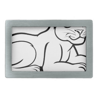 Leopard Jaguar or Panther Rectangular Belt Buckles