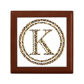 Leopard K Gift Box
