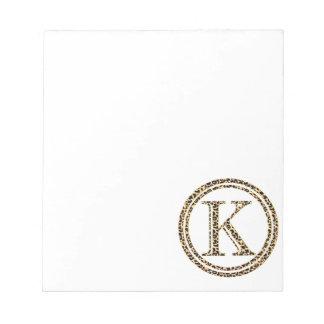 Leopard K Notepad