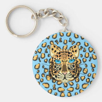 Leopard Keychains