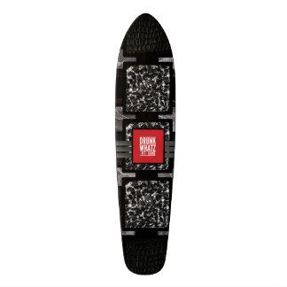 Leopard Lace Funny Quote Custom Skate Board
