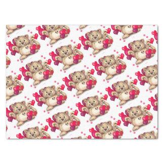 "LEOPARD LOVE 15"" x 20"" - 10lb Tissue Paper"
