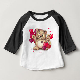 LEOPARD LOVE Baby American 2 Baby T-Shirt