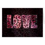 Leopard Love Cards